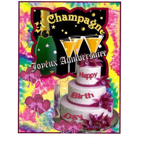 Exceptionnel anniversaire femme a imprimer JZ27