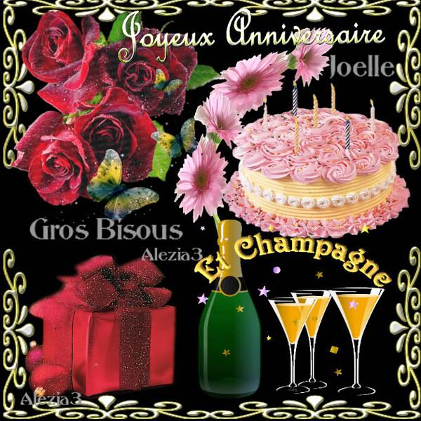 bon anniversaire joelle