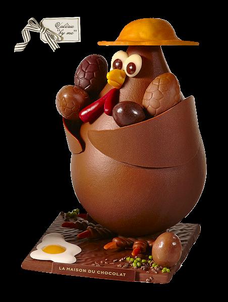 Paques decorations chocolat for Decoration 3 chocolat